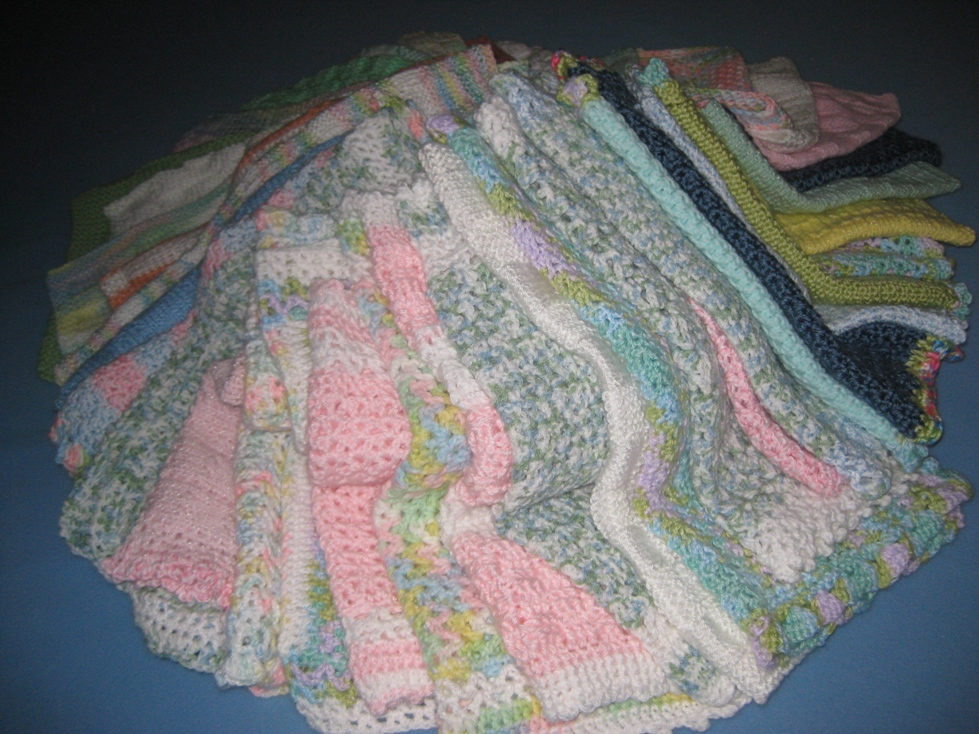 Handmade Baby Blankets Are Donated By Saturday Crafters
